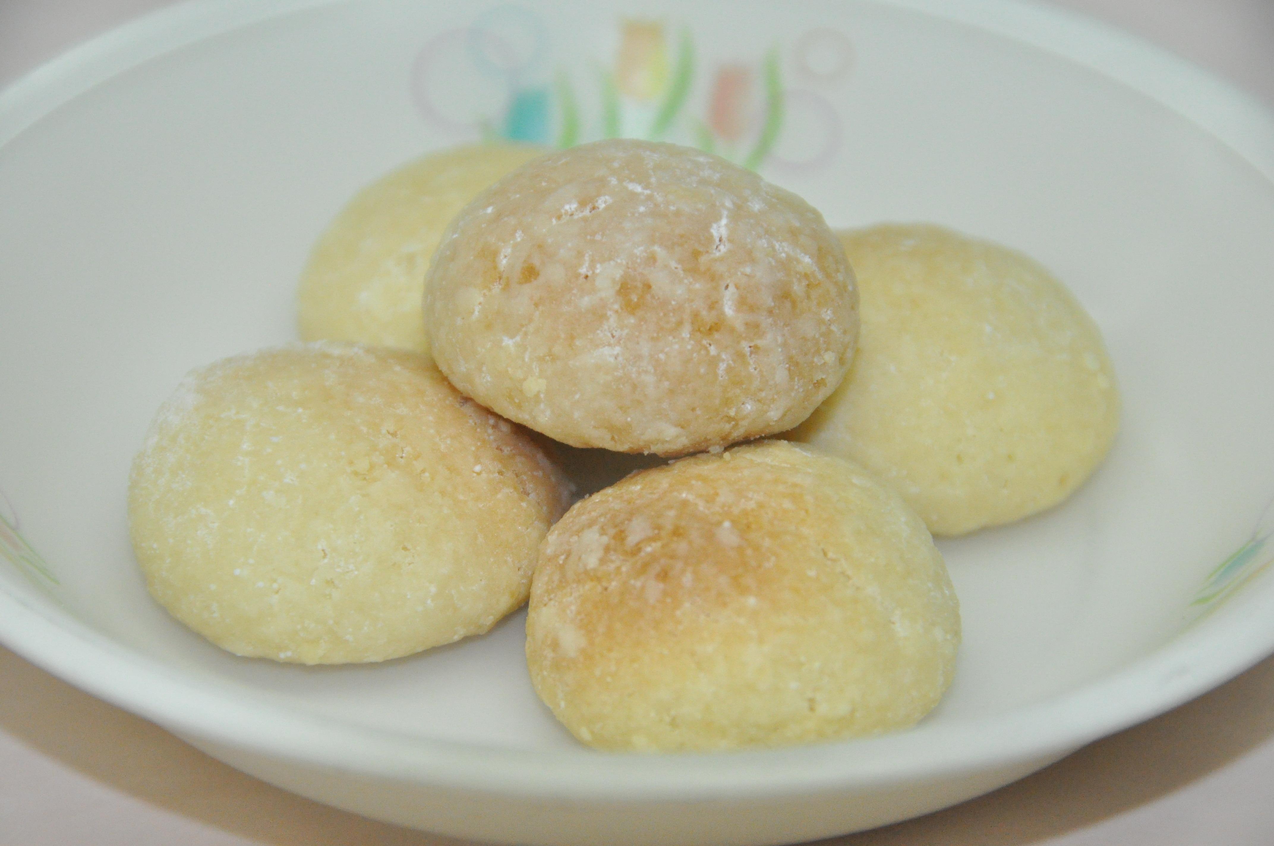 ボール レシピ スノー クッキー